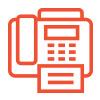 Icône de fax