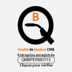 Logo certification Qualité de soudure
