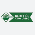 Logo certification CSA A660