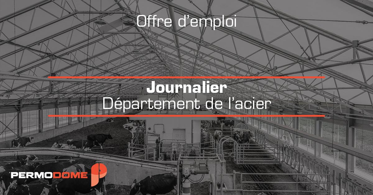 Journalier département de l'acier 4