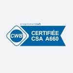 Logo certification CWB